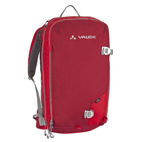 VAUDE ABScond Flow 22+6 Avalanche Backpack red